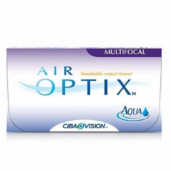 Air Optix Aqua Multifocal Kontaktlinsen - 6er Box (PWR/SPH = Dioptrien: -1,25)