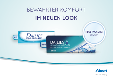 Dailies Aqua Comfort plus , 90er Box