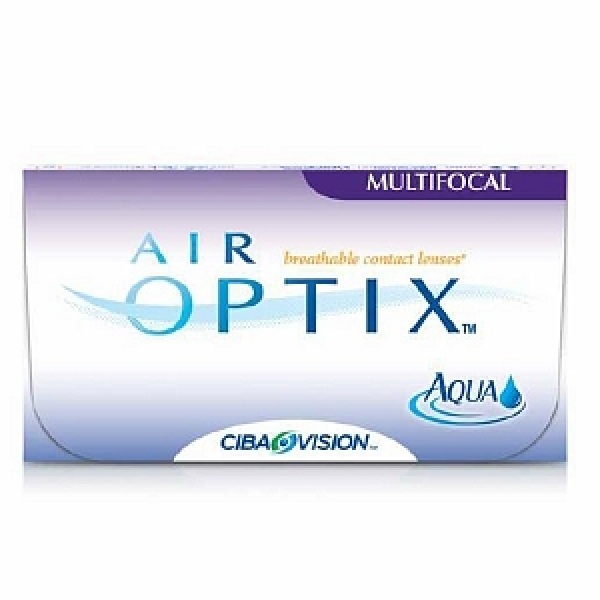 Air Optix Aqua Multifocal Kontaktlinsen - 6er Box (PWR/SPH = Dioptrien: +1,00)