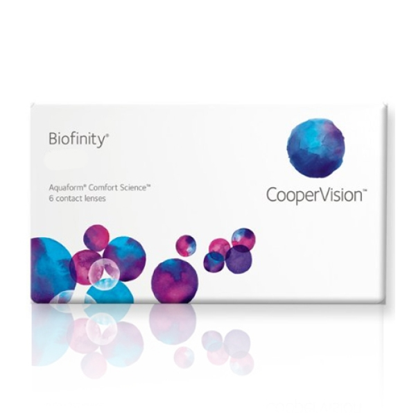 Biofinity - 6er Box - Cooper Vision (PWR/SPH = Dioptrien: -3,25)