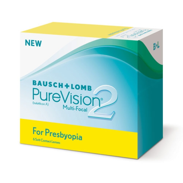 PureVision2 Multi-Focal for Presbyopia - 6er Box